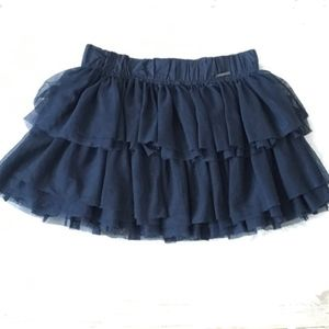 Abercrombie & Fitch Skirts - Abercrombie & Fitch Blue Tulle Mini Skirt